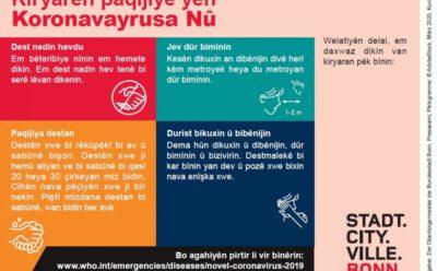 Weitere Tipps – Corona-Infos der Stadt Bonn