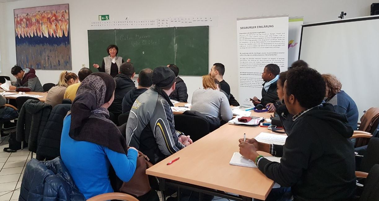 Unsere Deutsch-Kurse startem wieder ab dem 18.08.21 immer montags bis freitags von 10:00 bis 12:15 Uhr
