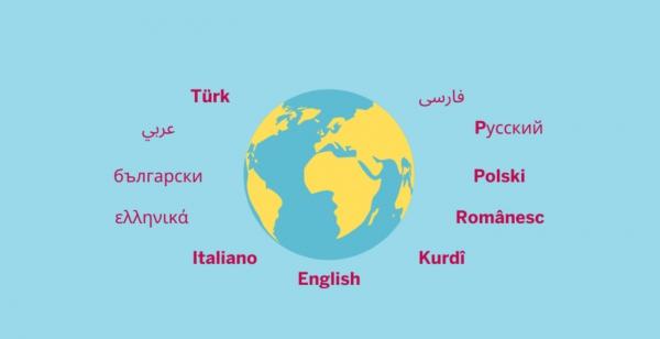 Landesregierung NRW informiert in verschiedenen Sprachen