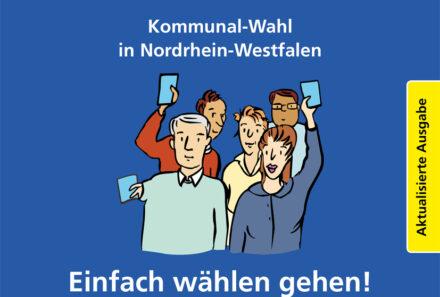 Wichtige Informationen zur Kommunalwahl und zur Wahl des Integrationsrates am 13. September in Leichter Sprache