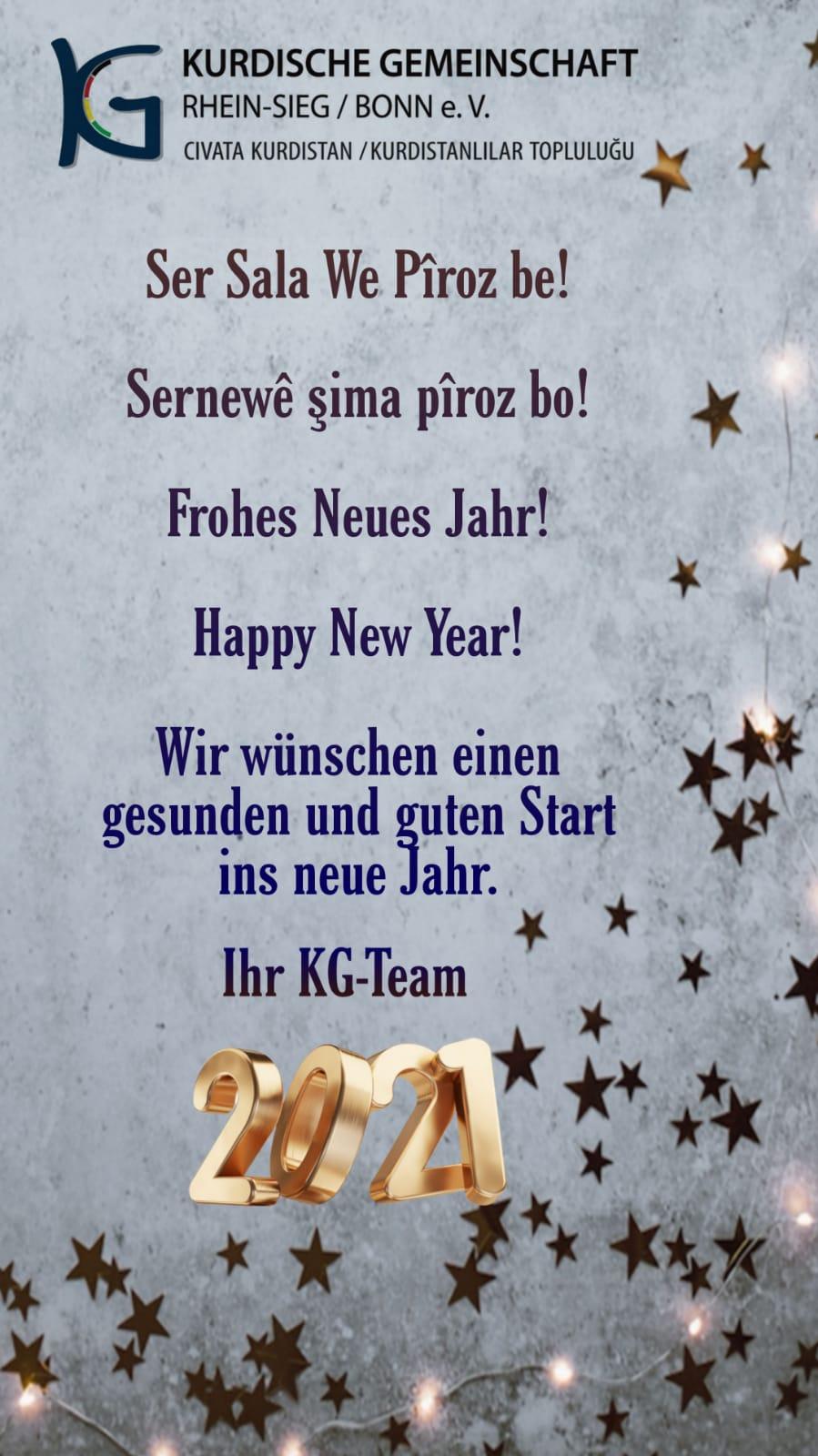 Auf ein gesundes neues Jahr