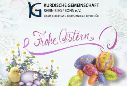 Wir wünschen allen frohe Ostern!