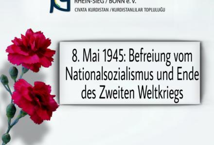 8. Mai 1945: Befreiung vom Nationalsozialismus und Ende des Zweiten Weltkriegs