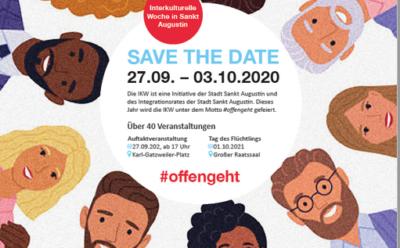 SAVE THE DATE: Interkulturelle Woche in Sankt Augustin